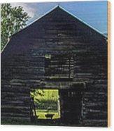 Dark Barn Wood Print