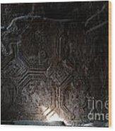 Dark Corners Wood Print