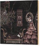 Dark Dream II Pretty As A Picture Wood Print