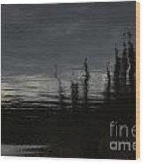Dark Forest Dreams Wood Print