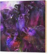 Dark Goddess Wood Print
