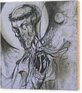 Dark Lord Wood Print
