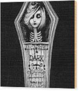 Dark Wood Print