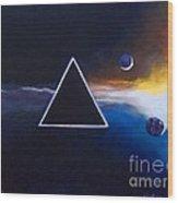 Dark Side Of The Moon - Pink Floyd Wood Print