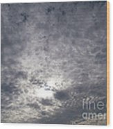 Dark Skyline Wood Print