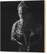 Dark Ties And Tattoos Wood Print