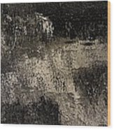 Darkness Happens Wood Print