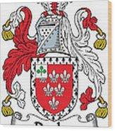 Darley Coat Of Arms Irish Wood Print