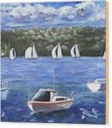 Darling Harbor Wood Print