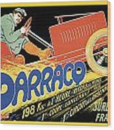 Darracq Suresnes France Wood Print