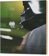 Darth Vader Wood Print by Micah May