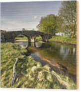 Dartmoor Bridge  Wood Print