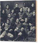 Dartmouth Football Team 1901 Wood Print by Edward Fielding