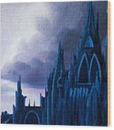 Dartonian Castle Wood Print