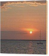 Fannie Bay Sunset 1.4 Wood Print
