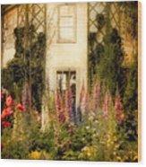 Darwin's Garden Wood Print by Jessica Jenney