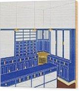 Das Interieur Iv, A Glove Shop, 1906 Wood Print