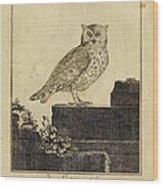Das Kautzgen Mit Ohren Wood Print
