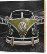 Das Vw Bus Wood Print