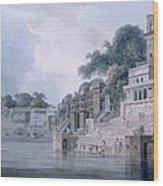 Dasasvamedha Ghat, Benares, Uttar Wood Print