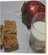 Date Squares - Snack - Dessert - Milk Wood Print