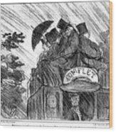Bus, 1856 Wood Print