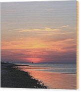 Dauphin Island Sunset Wood Print