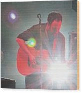 Dave In The Spotlight Wood Print