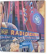Dave Matthews And Tim Reynolds At Radio City Wood Print