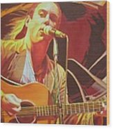 Dave Matthews At Vegoose Wood Print