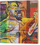Dave Matthews-bartender Wood Print