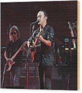 Dave Matthews Live Wood Print
