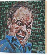 Dave Matthews Portrait Wood Print