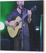 Dave Rocks Tampa Wood Print
