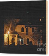 Davenport At Night Wood Print