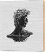 David 46 Wood Print