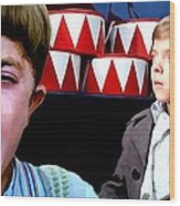 David Bennent in the film The Tin Drum Wood Print