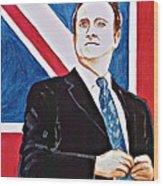 David Cameron 2010 Wood Print