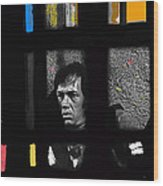 David Carradine Jail Young Billy Young Old Tucson Sound Stage Tucson Arizona 1968 Wood Print