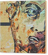 David Who Wood Print by Water Lily