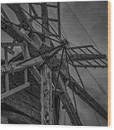 Davidson Windmill Wood Print