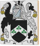 Davis Coat Of Arms Kildare Ireland Wood Print