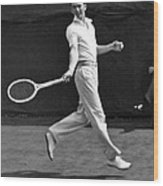 Davis Cup Play Wood Print