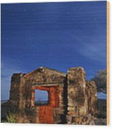 Davis Mountains State Park 2am-114647 Wood Print