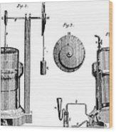 Davy: Gas Machine, 1800 Wood Print