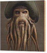 Davy Jones Wood Print