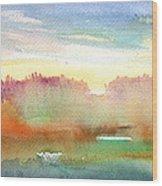 Dawn 43 Wood Print