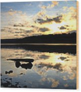 Dawn Breaks Wood Print