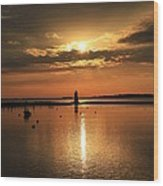 Dawn Edgartown Light II Wood Print