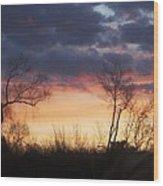 Dawn In The Catskills Wood Print